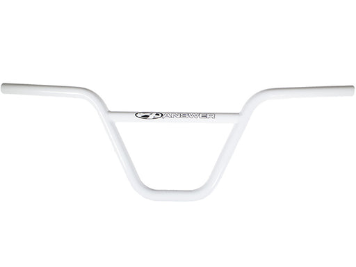 "Answer Pro Chromoly Bar-8"" White"