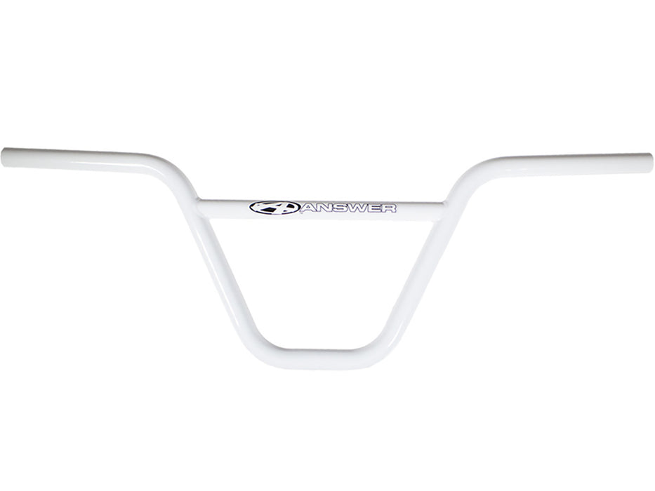 "Answer Pro Chromoly Bar-8.5"" White"