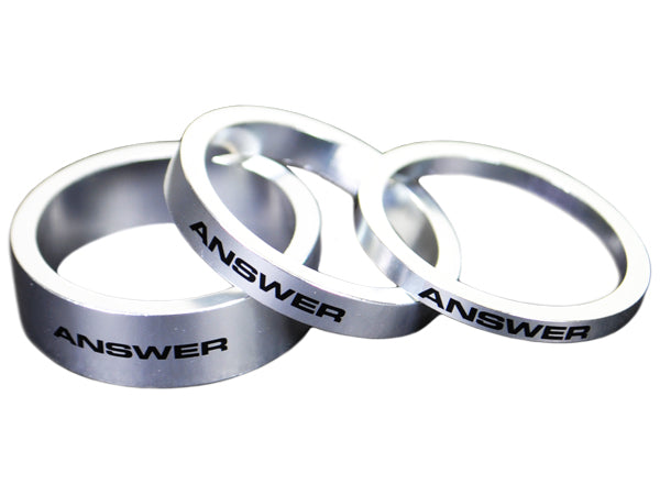 ANSWER Aluminum Headset Spacers