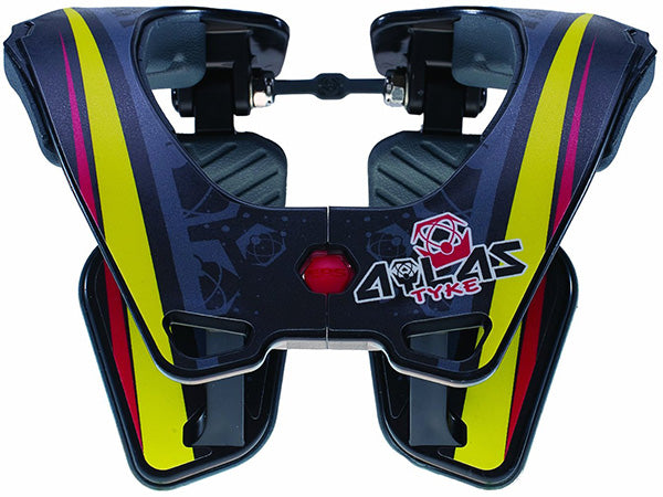 ATLAS Tyke Neck Brace | YELLOW/RED