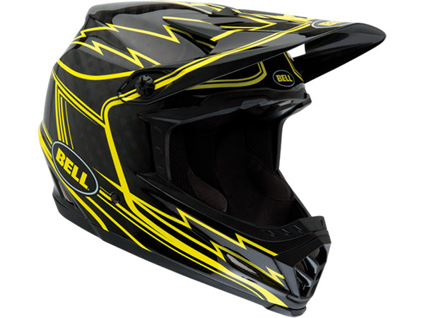BELL 2014 Full-9 Carbon Helmet | BLACK/YELLOW