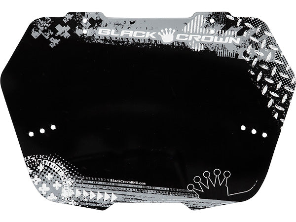 BLACK CROWN Grunge Plate