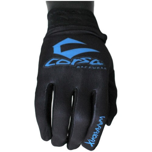 Warrior X Race Glove-Black/Blue