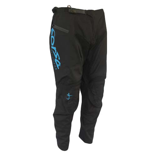 Corsa Warrior X BMX Race Pant-Black/Blue