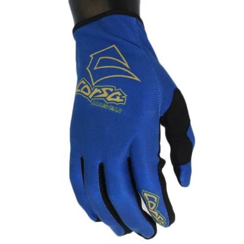 Corsa Unleashed Strapless Race Glove-Navy/Gold