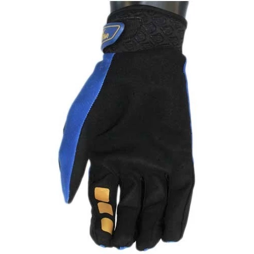 Corsa Unleashed Velcro Glove-Navy/Gold