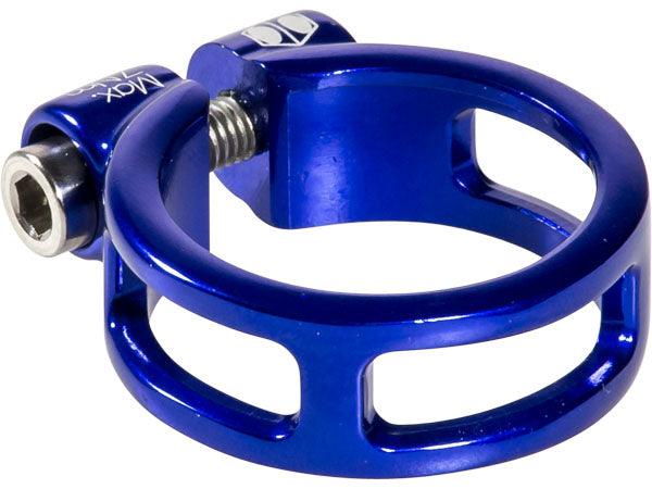 Seatpost Clamp Box Helix Fixed 31.8 Blue