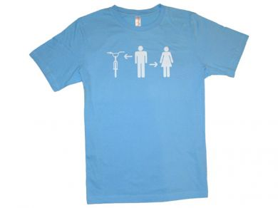 "EFFIN RIDE ""Boy-Girl-Bike"" T-Shirt 