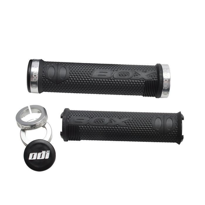 BOX Components Hex Lock-On Grips Gold