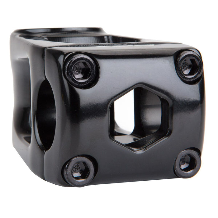Box Two Center Clamp Stem Black