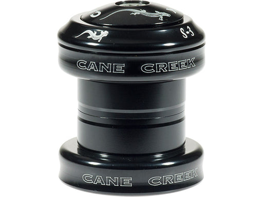 CANE CREEK S3 Press-In Threadless Headset Black 1 1/8""