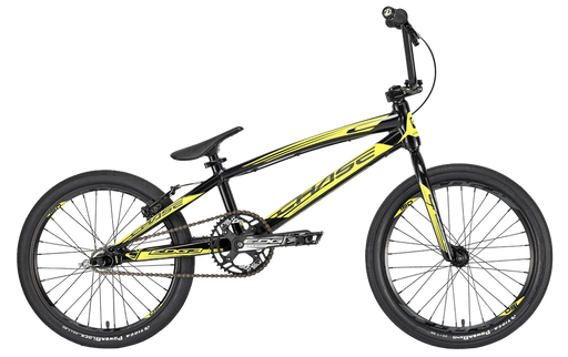 Chase 2020 Edge Expert XL BMX Bike-Black/Yellow