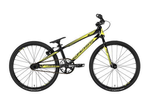 Chase 2020 Edge Mini BMX Bike-Black/Yellow