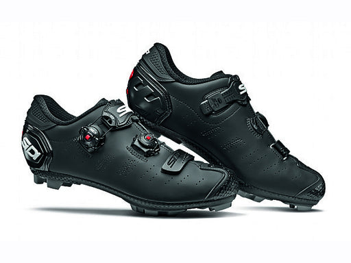 Sidi 2019 Dragon 5 Clipless Shoes-Matte Black Side View
