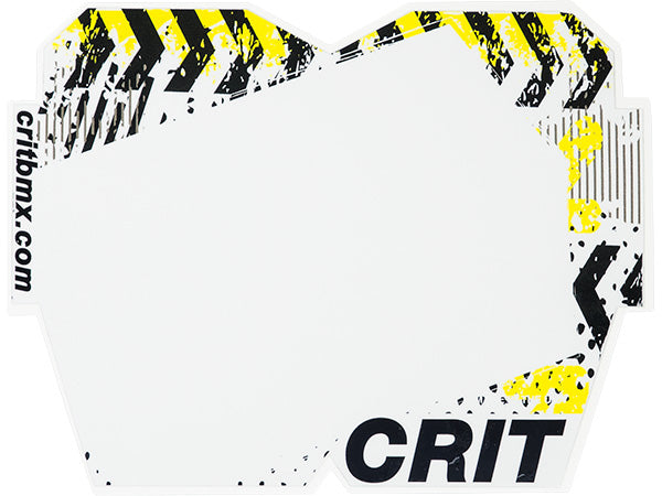 Crit Caution Number Plate