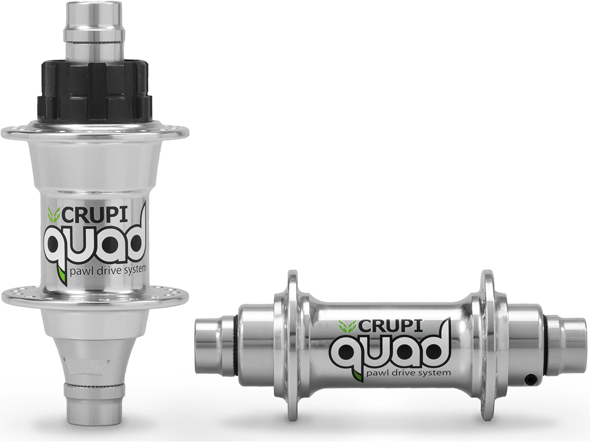 Crupi Quad Hub Set 36H Polished