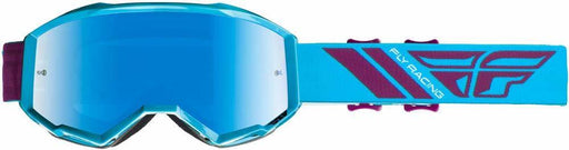 Fly Racing 2019 Zone Pro Goggles-Blue/Port/Blue Mirror