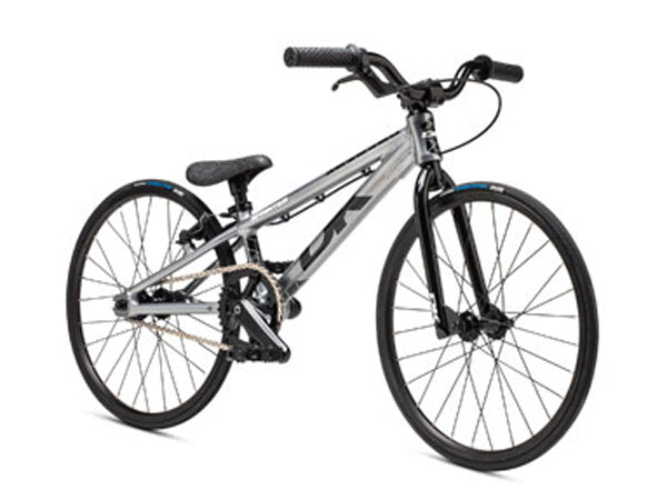 DK 2020 Sprinter Micro BMX Race Bike-Silver Front View