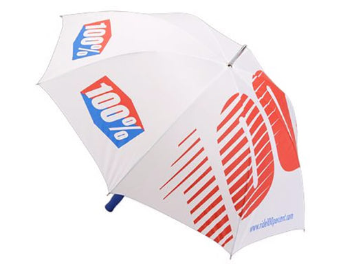 100% Umbrella-White  - J&R Bicycles BMX Super Store