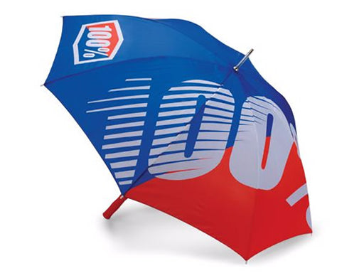 100% Premium Umbrella-Blue/Red  - J&R Bicycles BMX Super Store