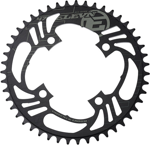 Elevn Flow Chainring-4-Bolt Blue