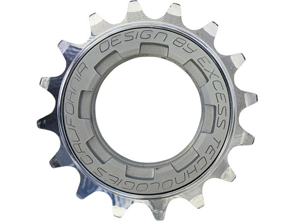 Excess Elite Freewheel with 60 Engagement Points-Chrome-16T