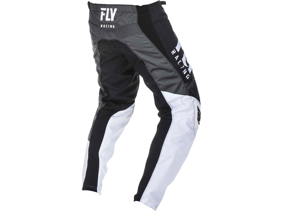 FLY RACING 2019 F-16 PANT-Black/White/Grey