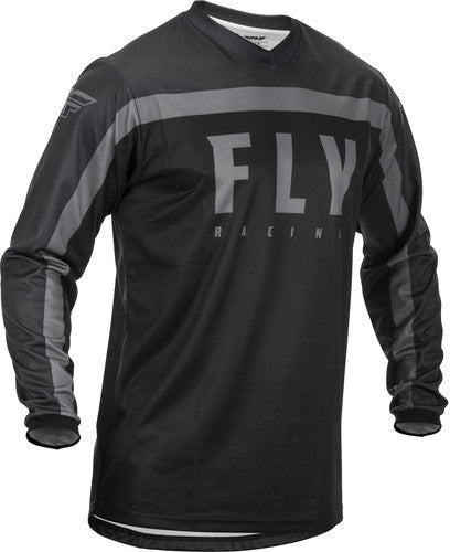 Fly Racing F-16 Jersey-Black/Grey