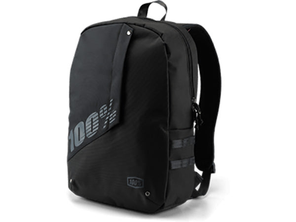 100% Porter Backpack-Black  - J&R Bicycles BMX Super Store