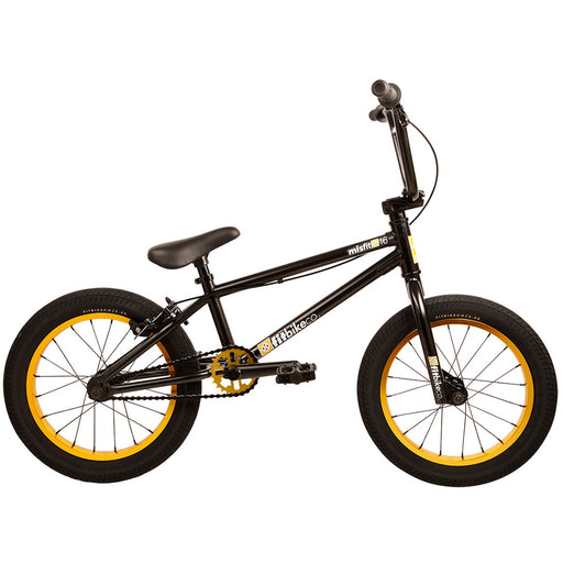 "Fit 2020 Misfit 16"" BMX Bike-ED Black"