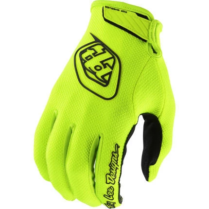 Troy Lee Designs 2018 Air Gloves - Flo Yellow-Adult XX-Large
