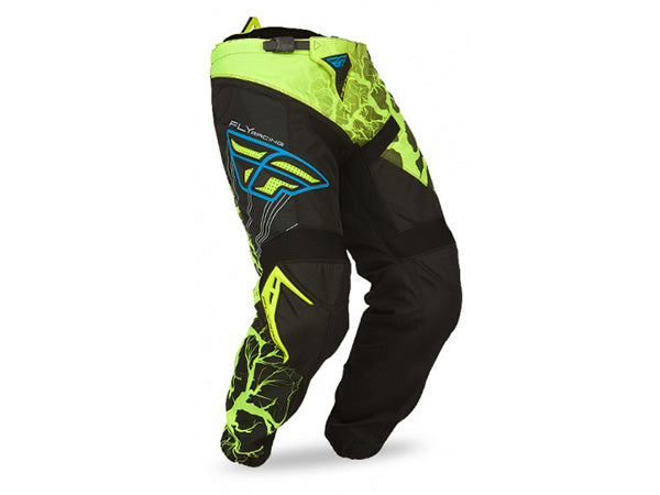FLY Racing 2015 F-16 LTD ED Pant | HI-VIS/BLUE