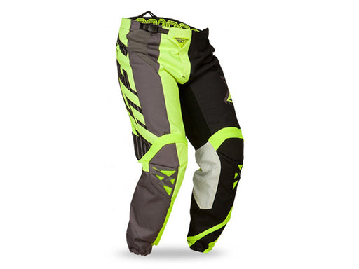 FLY Racing 2015 Kinetic Division Pant | BLACK/GREY/HI-VIS