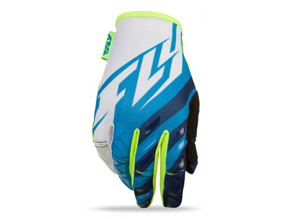 FLY Racing 2015 Kinetic Glove | HI-VIS/BLUE