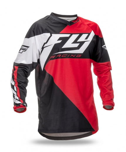 Fly Racing 2016 F-16 Jersey-Red/Black