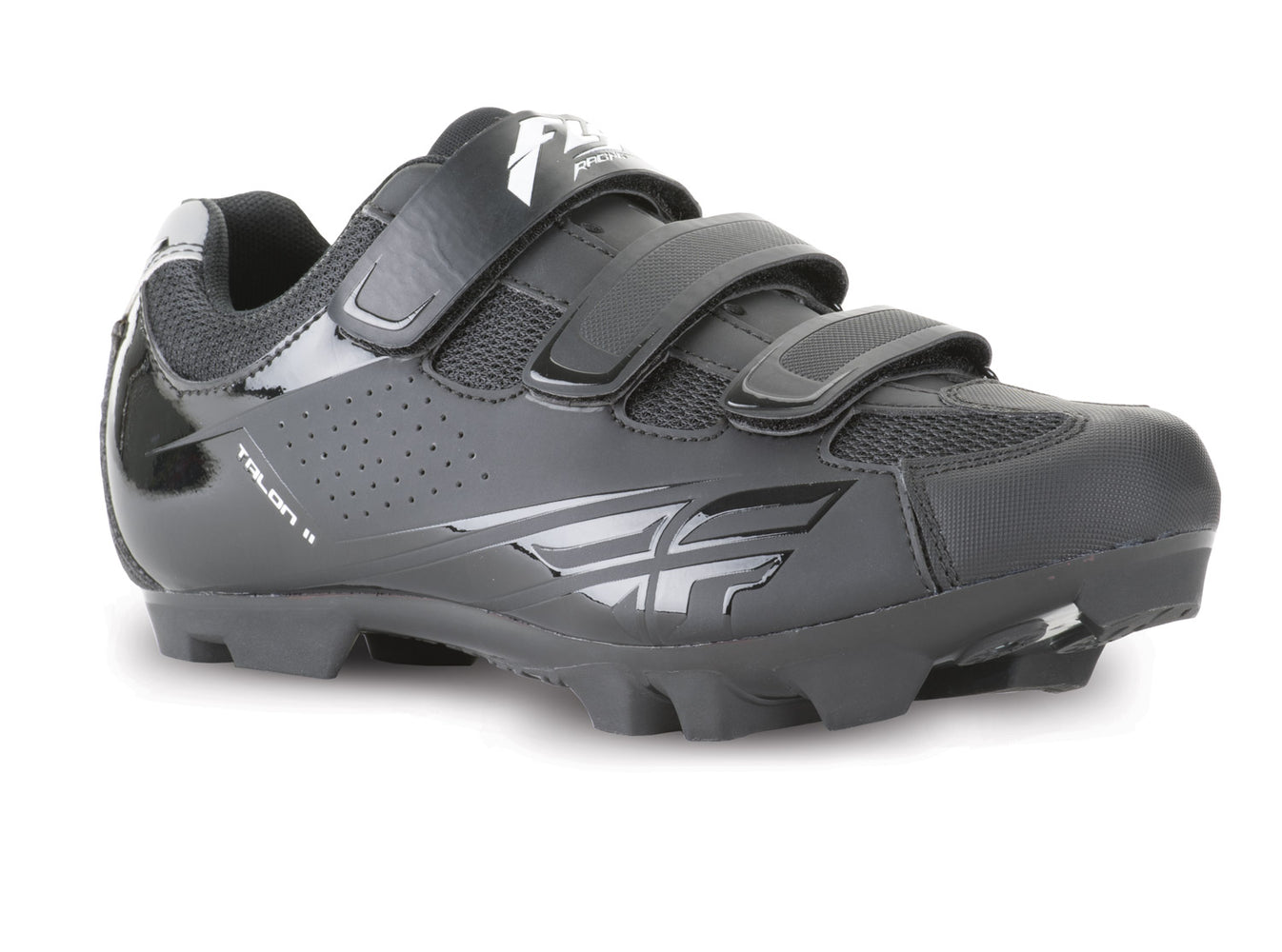 Fly Racing 2018 Talon II Clipless BMX Race Shoes-Black at J&R Bicycles