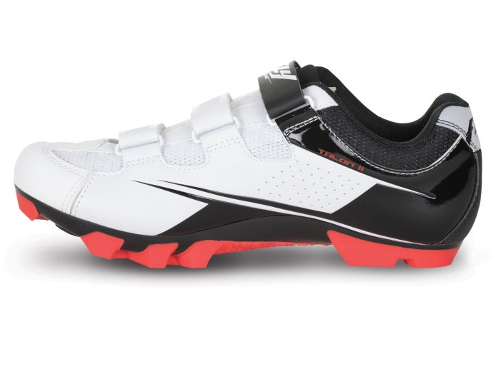 Fly Racing 2018 Talon II Clipless Shoes-Black/White