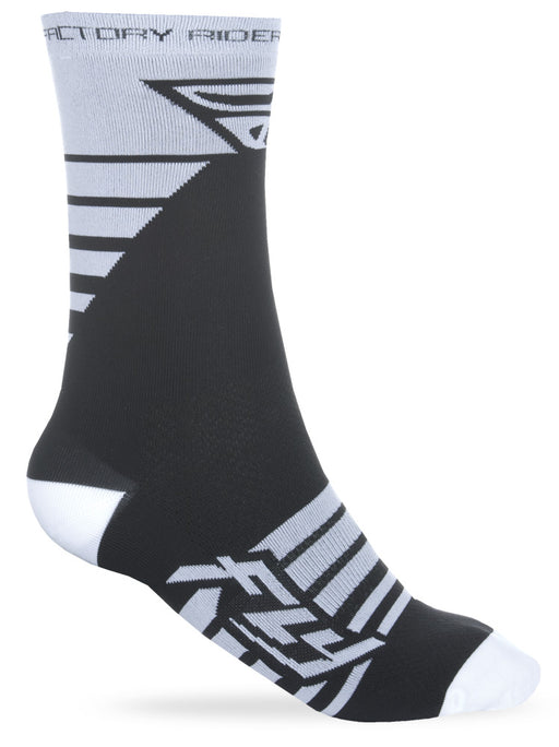 Fly Racing 2018 Factory Rider Socks White/Black