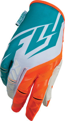 Fly Racing 2015 Kinetic Gloves-Teal/Orange
