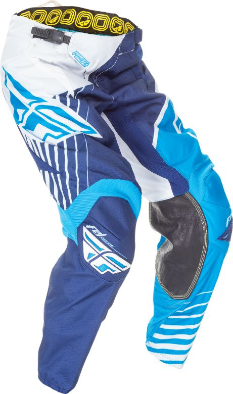 Fly Racing Kinetic Vector Race Pants-Blue/White/Navy