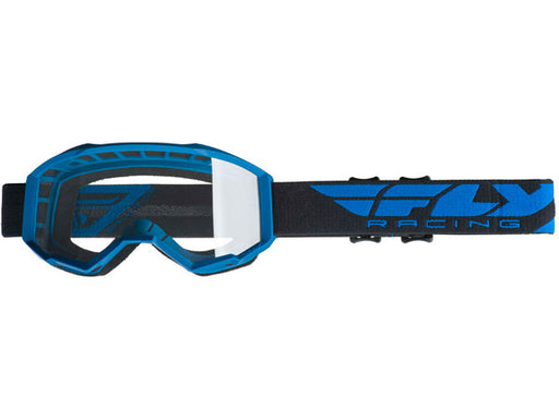 Fly Racing 2019 Focus Goggles-Blue/Clear