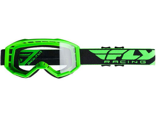 Fly Racing 2019 Focus Goggles-Green/Clear