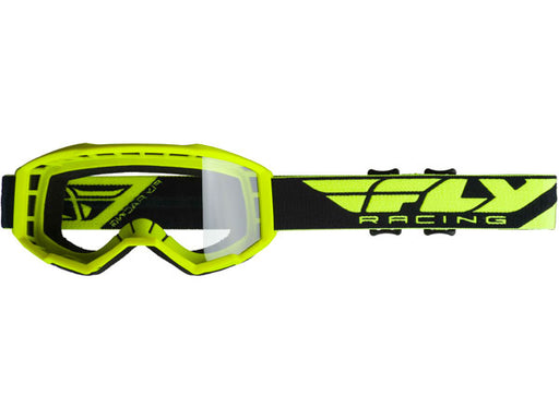 Fly Racing 2019 Focus Goggles-Hi-Vis Yellow/Clear