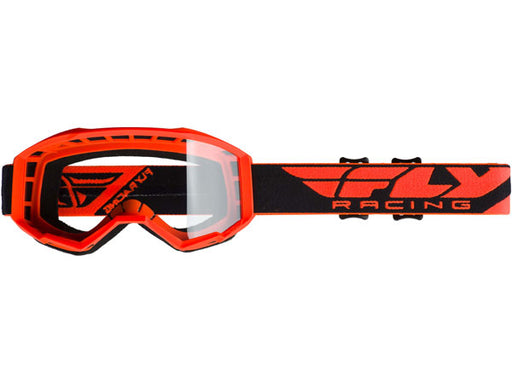 Fly Racing 2019 Focus Goggles-Orange/Clear
