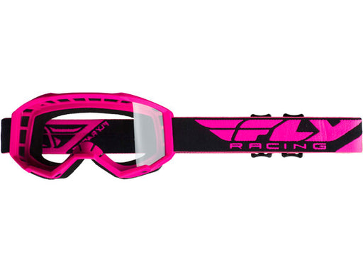 Fly Racing 2019 Focus Goggles-Pink/Clear