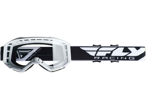 Fly Racing 2019 Focus Goggles-White/Clear