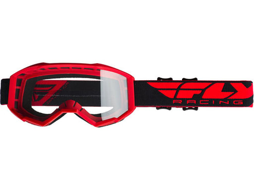Fly Racing 2019 Youth Focus Goggles-Red
