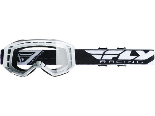 Fly Racing 2019 Youth Focus Goggles-White