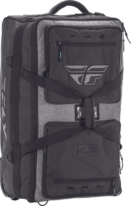 Fly Racing Tour RollIng Luggage Bag-Black/Gray