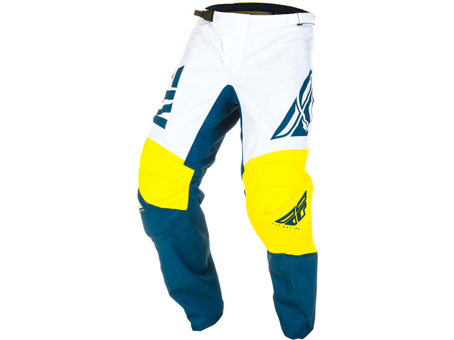 FLY RACING 2019 F-16 PANT-Yellow/White/Navy